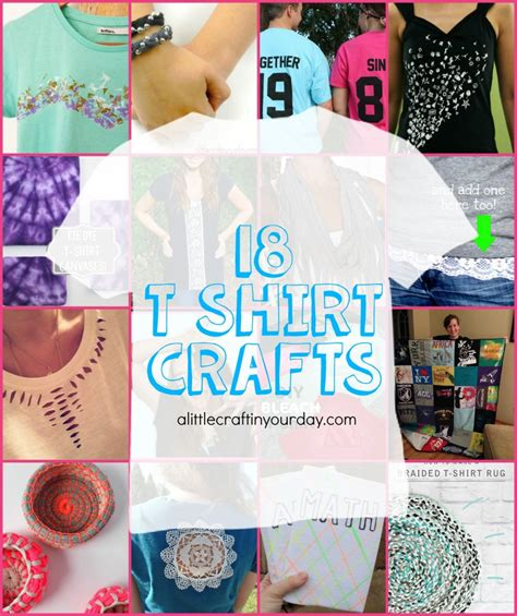 t shirt craft projects 18 t shirt projects a craft in your day