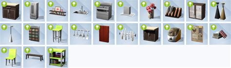 cool kitchen stuff the sims 4 cool kitchen stuff pack sims