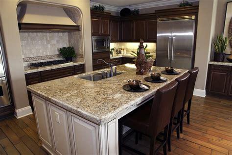 granite kitchen island ideas granite countertops the top quality element in kitchens