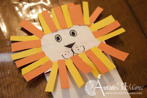 daniel and the lions den crafts for bible lesson daniel and the s den craft tutorial
