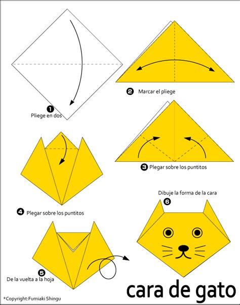 origami cat how to origami cat