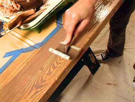 woodwork paint decorative paint technique woodgraining