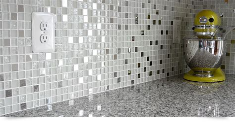metal backsplash tiles for kitchens modern white glass metal kitchen backsplash tile