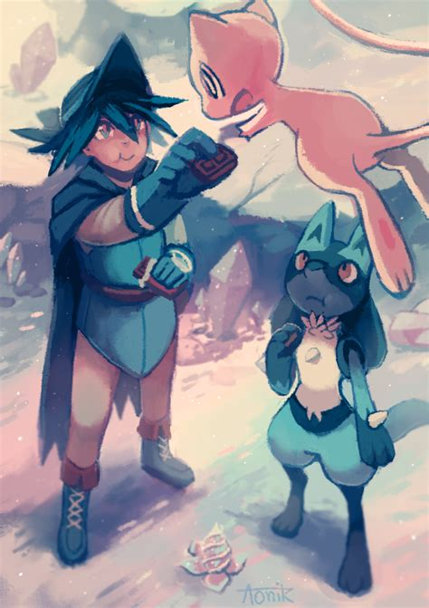 lucario and the mystery of mew lucario and the mystery of mew by aonik on deviantart