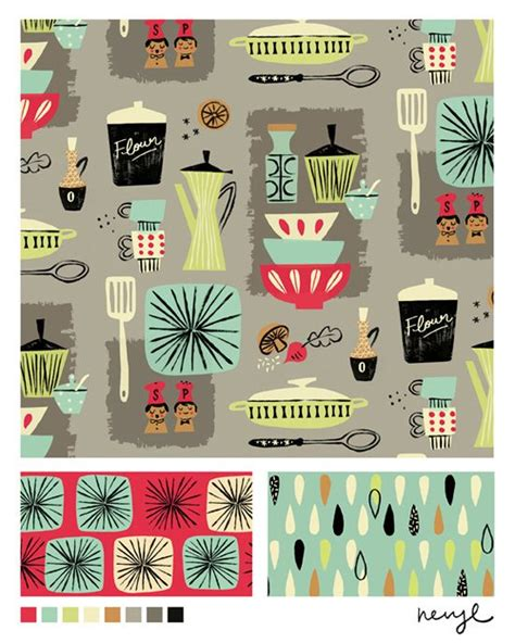 Vintage Kitchen Theme by Kitchen Themes Vintage Kitchen And Fabric Design On Pinterest