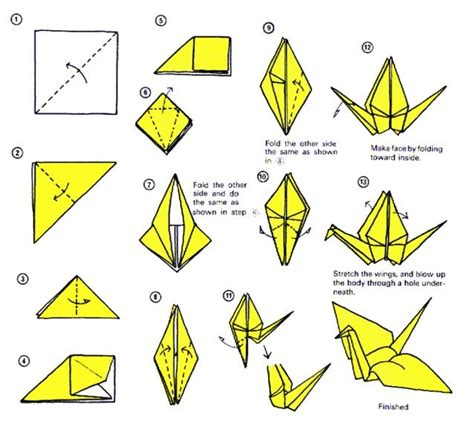 origami easy crane make an origami paper crane lessons tes teach