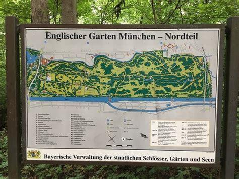 Englischer Garten München Gaststätte by Mapa Do Englisher Garten Bild Gastst 228 Tte Hirschau Im
