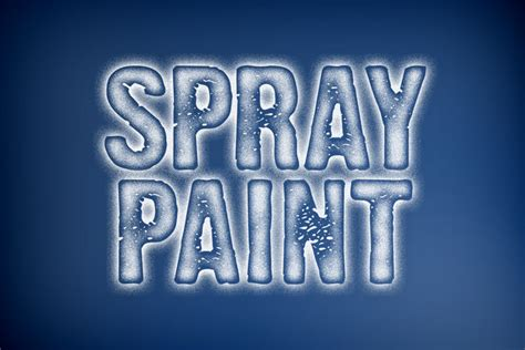 spray paint font in photoshop spray paint photoshop style design panoply