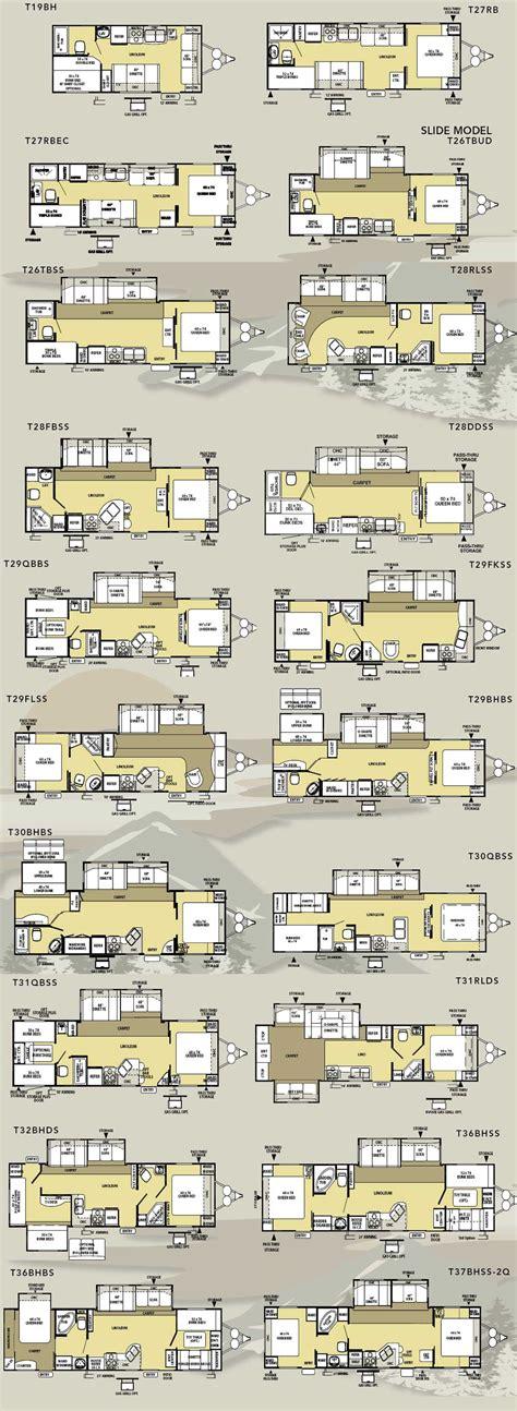 salem travel trailer floor plans forest river salem le travel trailer floorplans large