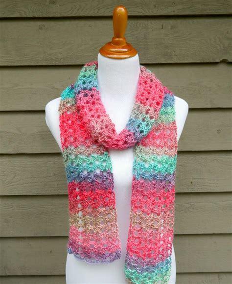 crochet scarf island lace crochet scarf allfreecrochet