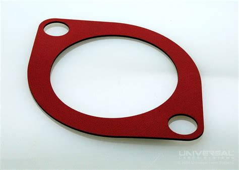 laser cut rubber st silicone rubber laser cutting engraving marking uls