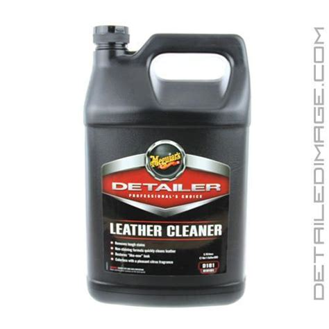 leather cleaner for cars meguiar s leather cleaner d181 128 oz free shipping available detailed image