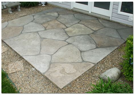backyard concrete patio designs amazing concrete patio designs