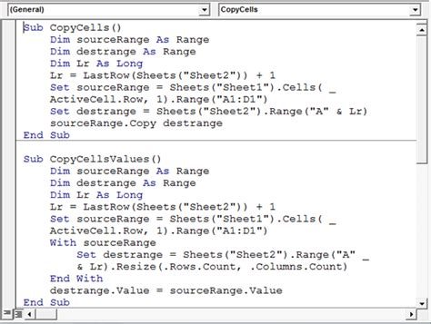 copy cells from the activecell row to a database sheet using vba in microsoft excel microsoft