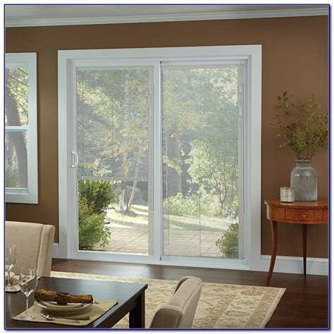 sliding glass patio doors with built in blinds andersen sliding patio doors with blinds between the glass