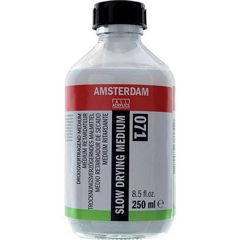 acrylic paint cure time amsterdam acrylic drying medium
