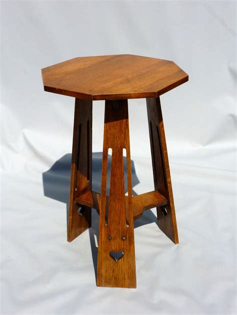 and crafts table arts crafts oak occasional table antiques atlas