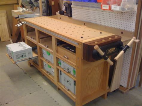 festool woodworking projects traditional and festool hybrid workbench with systainer