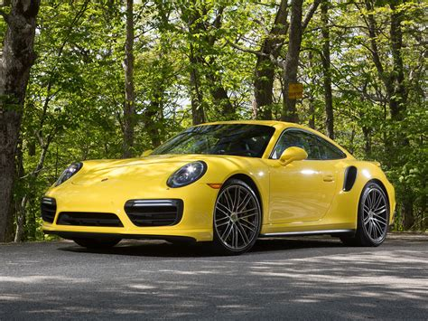 Supercar Wallpaper Yellow by Porsche 911 Turbo Coupe Yellow Supercar 4k Hd Wallpaper