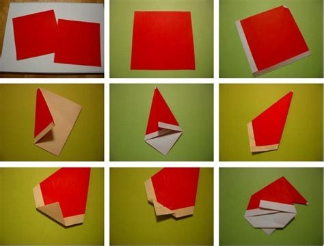how to make a santa origami diy origami santa