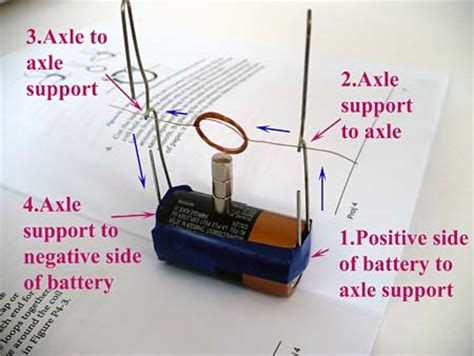 Simple Motor by Build A Simple Electric Motor