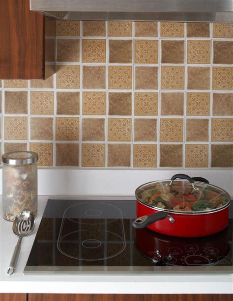stick on kitchen backsplash medallion sandstorm backsplash tiles 4 x4 pack of 27 catalog products shop self