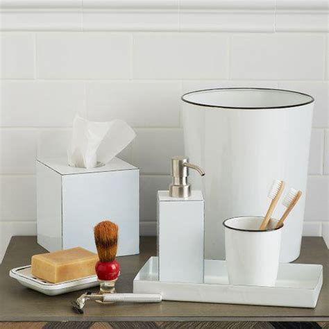 bathroom accessories white enamel white bath accessories