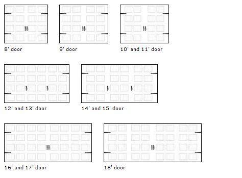 overhead garage door dimensions residential garage door sizes neiltortorella