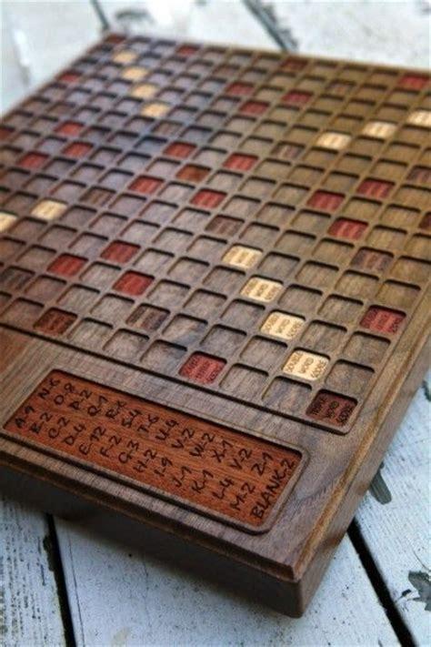 custom scrabble board made custom walnut scrabble board by bit beam