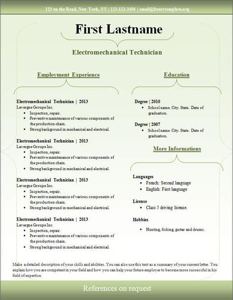 curriculum vitae curriculum vitae download template