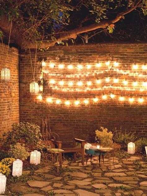 outside garden ideas ideas creativas para iluminar tu patio belel 250