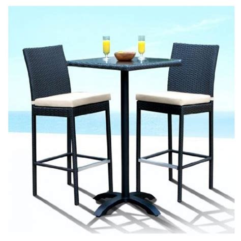 patio table bar height furniture outdoor bar height patio table and chairs