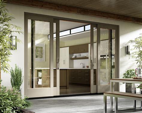 patio door designs essence series 174 wood doors milgard windows doors