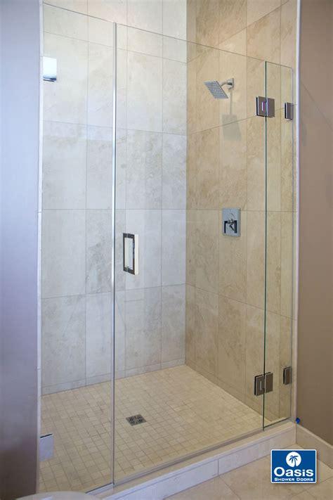 shower doors frameless frameless glass shower spray panel oasis shower doors ma