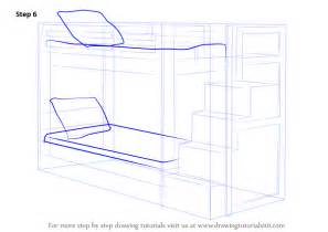 how to bunk beds learn how to draw a bunk bed furniture step by step