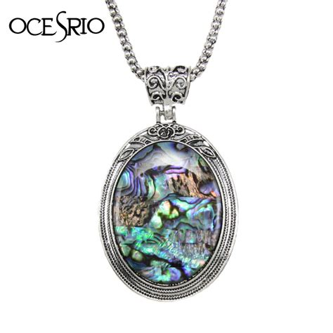 large pendants for jewelry ocesrio new fashion big pendant necklace shell bohemian