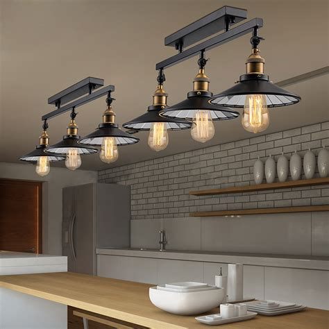 industrial loft kitchen with light get cheap black painted rooms aliexpress