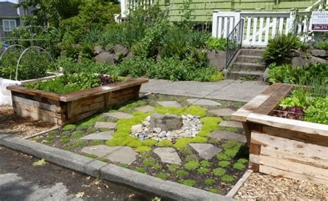 garden bed rocks 25 rock garden designs landscaping ideas for front yard