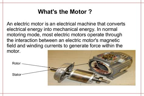 What Is Electric Motor by Various Electric Motors And Comparison