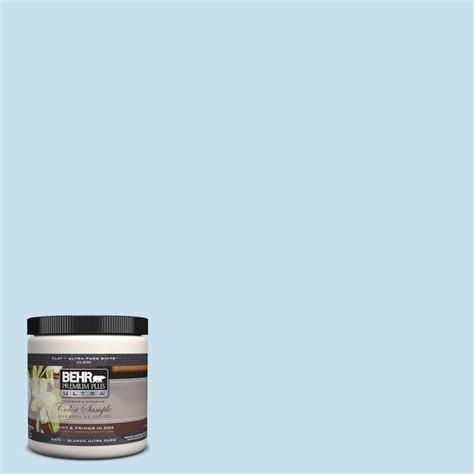 behr paint color refreshed behr premium plus ultra 8 oz pph 40 lovely blue sky