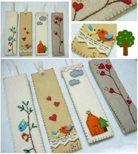 bookmark craft ideas for diy fabric bookmark buttons small gifts