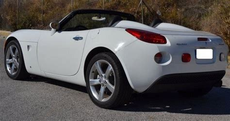 Pontiac Sport Cars by 2006 Pontiac Solstice 2 4 Cabriolet 2 Seater Convertible