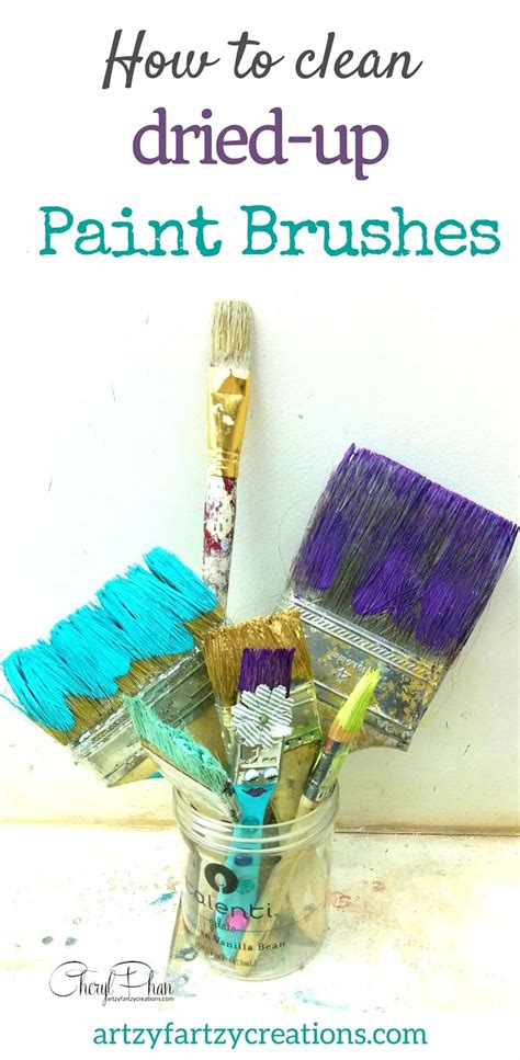 how to clean acrylic paint on canvas best 25 paint brushes ideas on acrylic