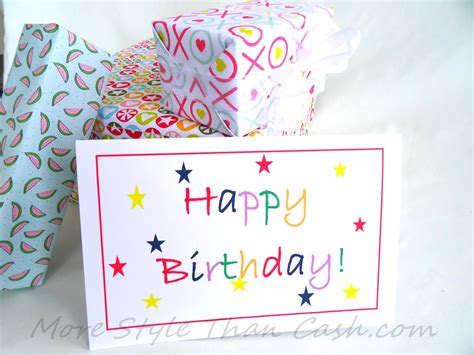 ideas of birthday cards inexpensive greeting card ideas