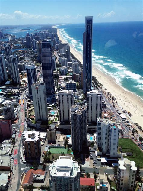 Observation Deck Q1 by Sky High Tea At Q1 Skypoint Gold Coast