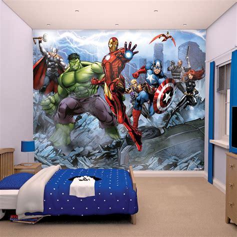 marvel comics and wallpaper wall murals d 201 cor bedroom ebay