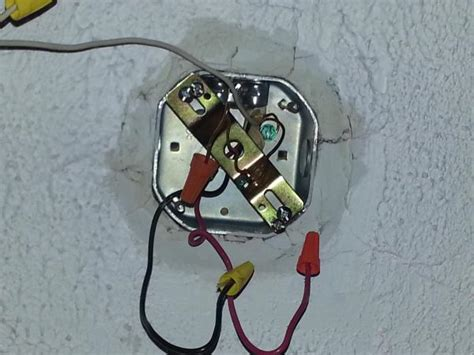 How To Wire A Light Fixture How To Install Regular Light Fixture And Dimmer Switch