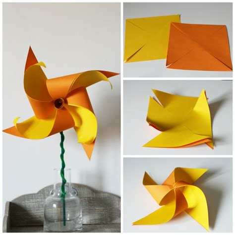 daffodil craft for how to make a two colour daffodil pinwheel in the