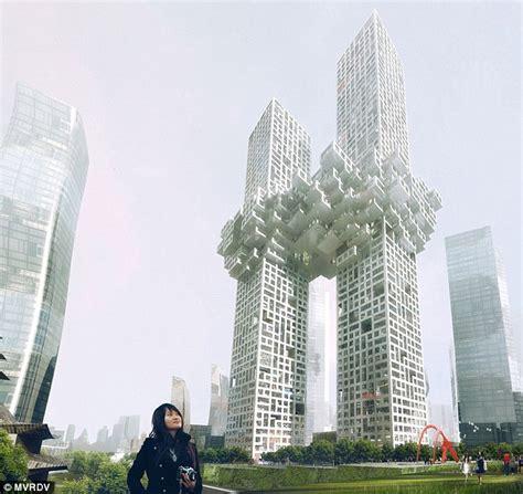 south korea mvrdv architects reveal plans for south korean buildings