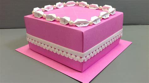 origami birthday cake origami wedding birthday cake display gift box
